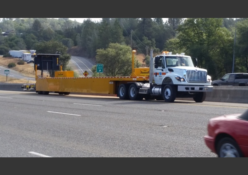Caltrans Deploys Mobile Barriers MBT-1