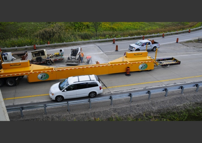 Mobile Barriers MBT-1 Workzone