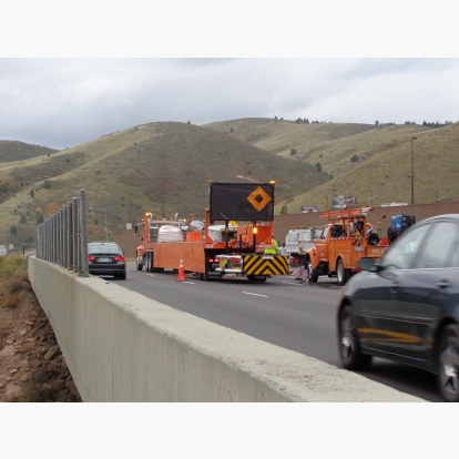 Mobile Barriers MBT-1 CO CDOT Road Work