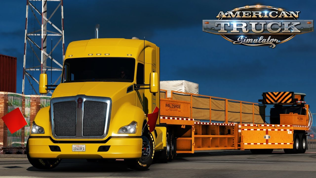 Mobile Barriers MBT-1 Featured in American Truck Simulator.